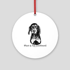 B & T Charcoal Ornament (Round)