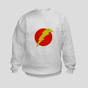 Flash Bolt Superhero Sweatshirt