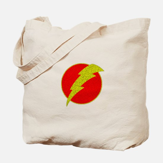 Flash Bolt Superhero Tote Bag