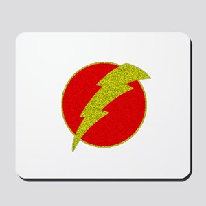 Flash Bolt Superhero Mousepad