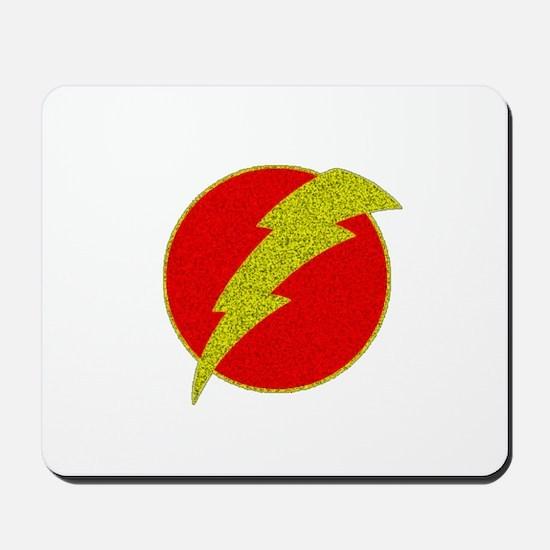 Flash Bolt Superhero Mousepad