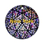 New York Ornament (Round)