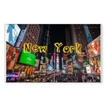 New York Sticker (Rectangle 50 pk)