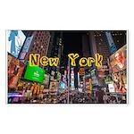 New York Sticker (Rectangle 10 pk)