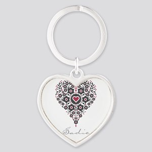 Love Sadie Heart Keychain
