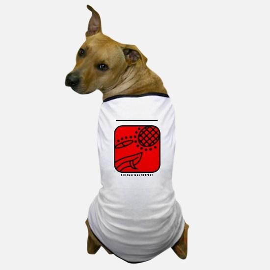 RED Overtone SERPENT Dog T-Shirt