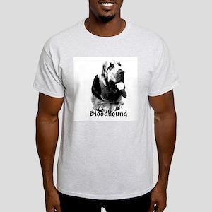 Bloodhound Charcoal Ash Grey T-Shirt