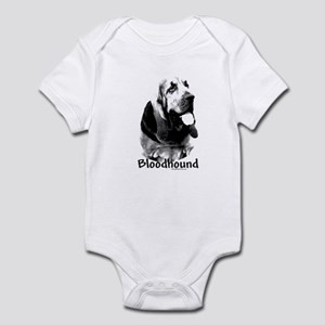 Bloodhound Charcoal Infant Bodysuit