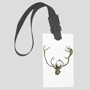 Elk Antlers Large Luggage Tag
