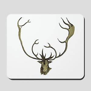 Elk Antlers Mousepad