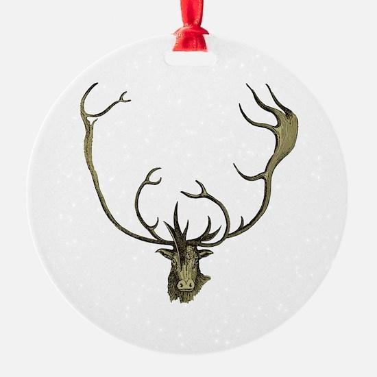 Elk Antlers Ornament