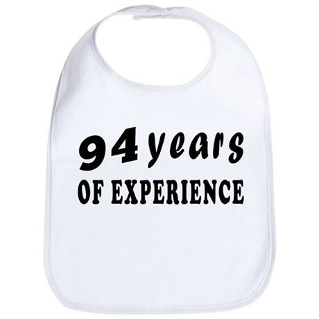 94 years birthday designs Bib