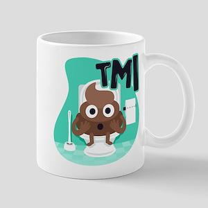 Emoji Poop TMI 11 oz Ceramic Mug