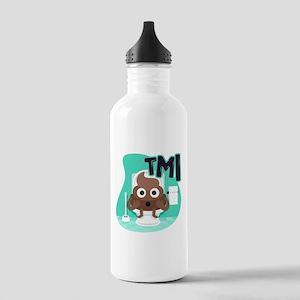 Emoji Poop TMI Stainless Water Bottle 1.0L
