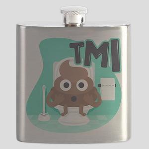 Emoji Poop TMI Flask