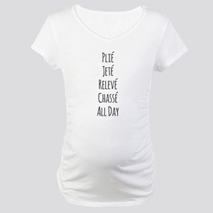 Ballet All Day Maternity T-Shirt