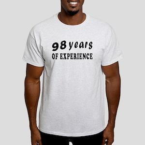 98 years birthday designs Light T-Shirt