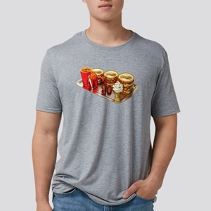 The Golden Age Of Fast Food Mens Tri-blend T-Shirt