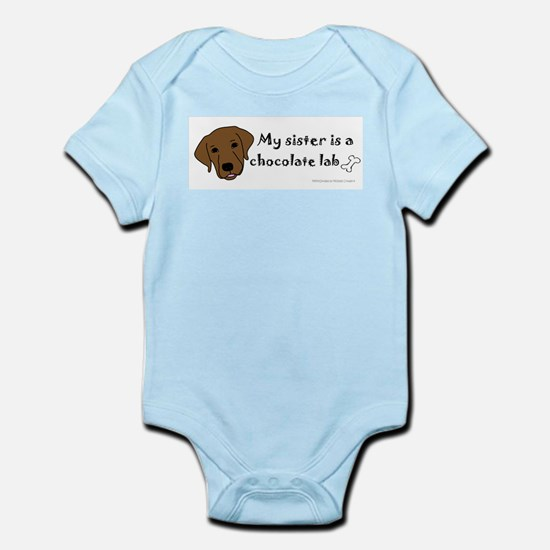 chocolate lab Body Suit