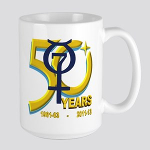 Mercury's 50th Anniversary! Large Mug