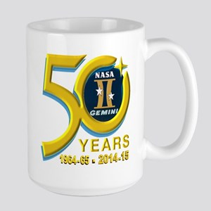 Gemini's 50th Anniversary! Large Mug