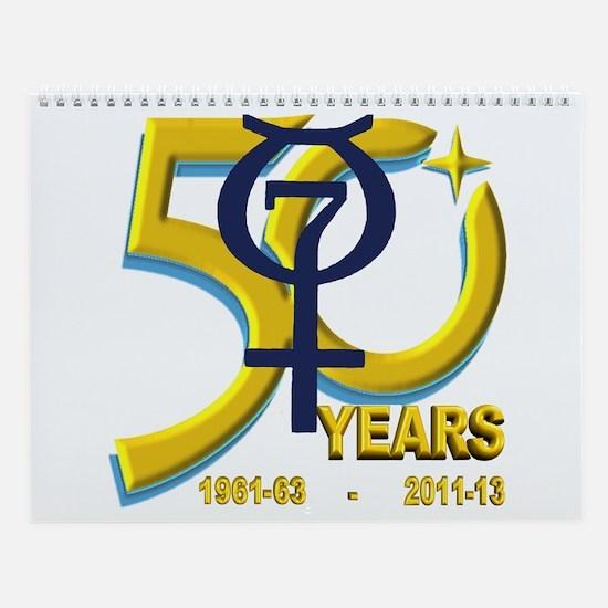 Mercury's 50th Anniversary! Wall Calendar