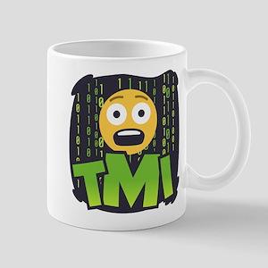 Emoji TMI 11 oz Ceramic Mug