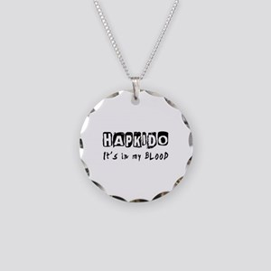Hapkido Martial Arts Necklace Circle Charm