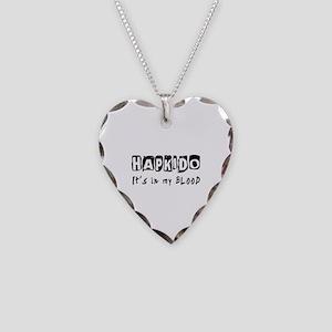 Hapkido Martial Arts Necklace Heart Charm