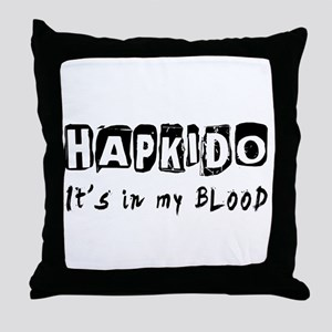 Hapkido Martial Arts Throw Pillow