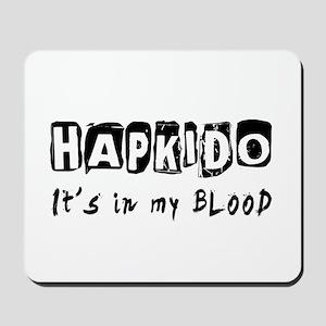 Hapkido Martial Arts Mousepad