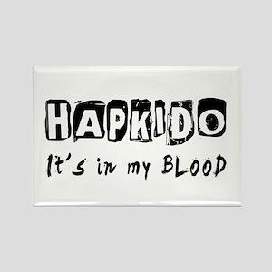 Hapkido Martial Arts Rectangle Magnet