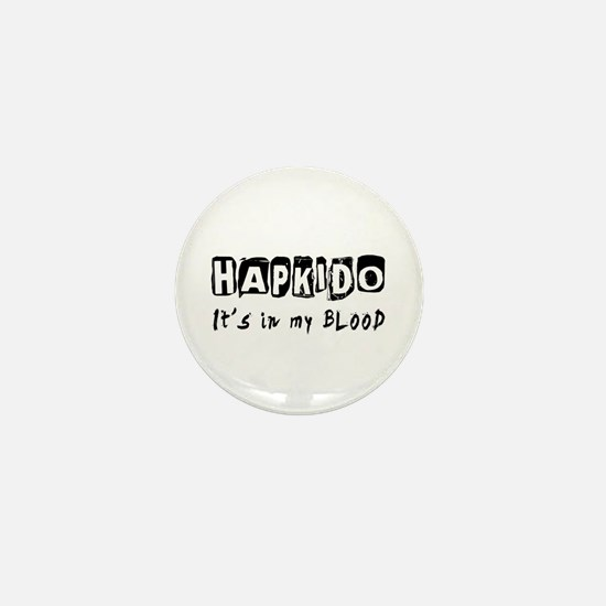 Hapkido Martial Arts Mini Button