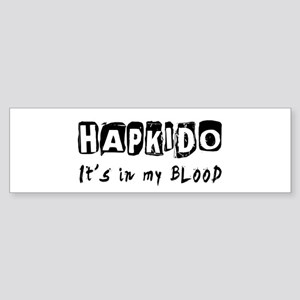 Hapkido Martial Arts Sticker (Bumper)