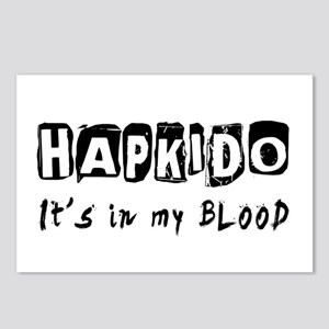 Hapkido Martial Arts Postcards (Package of 8)