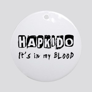 Hapkido Martial Arts Ornament (Round)