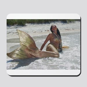 Golden Mermaid Mousepad