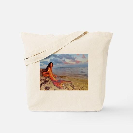 Shoreline Mermaid Tote Bag