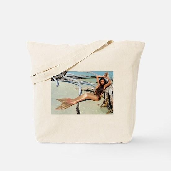 Driftwood Mermaid Tote Bag