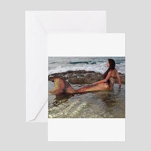 Tidepool Mermaid Greeting Card