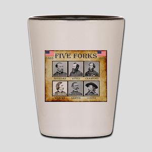 Five Forks - Union Shot Glass