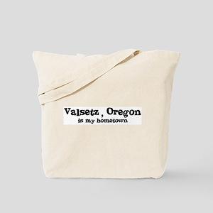 Valsetz - Hometown Tote Bag
