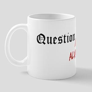 Question Alva Authority Mug