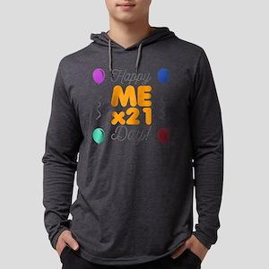 Happy 21st Birthday Mens Hooded Shirt