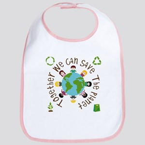 Together Save the Planet Bib