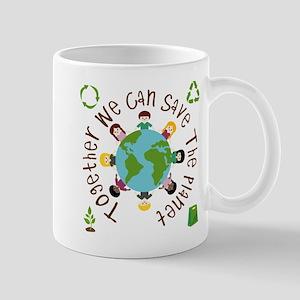 Together Save the Planet Mug