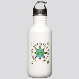 Together Save the Planet Stainless Water Bottle 1.