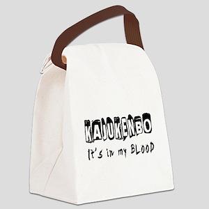 Kajukenbo Martial Arts Canvas Lunch Bag