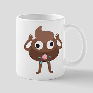 Emoji Poop Tongue 11 oz Ceramic Mug