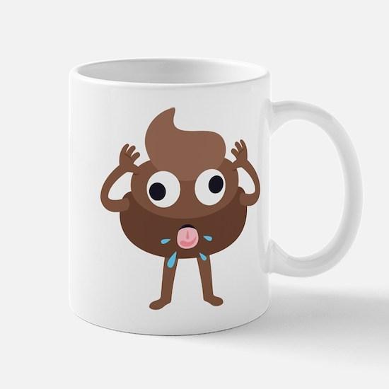Emoji Poop Tongue Mug